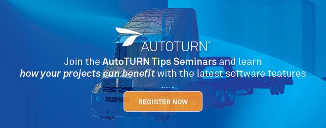 AutoTURN Tips Webinars | Design Vehicle Options | 9 August